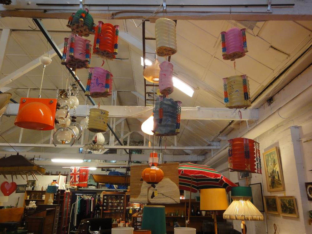 Smith Street Bazaar Collingwood lanterns.JPG