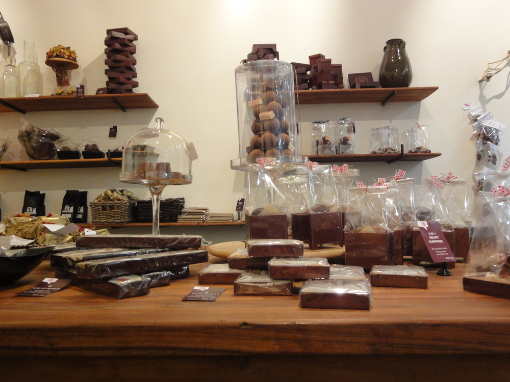 Daylesford tasting at The Chocolate Lover 1.JPG