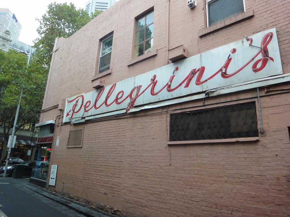 Pellegrinis neon sign.JPG