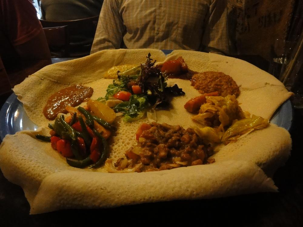 Ethiopian Food in Melbourne.JPG