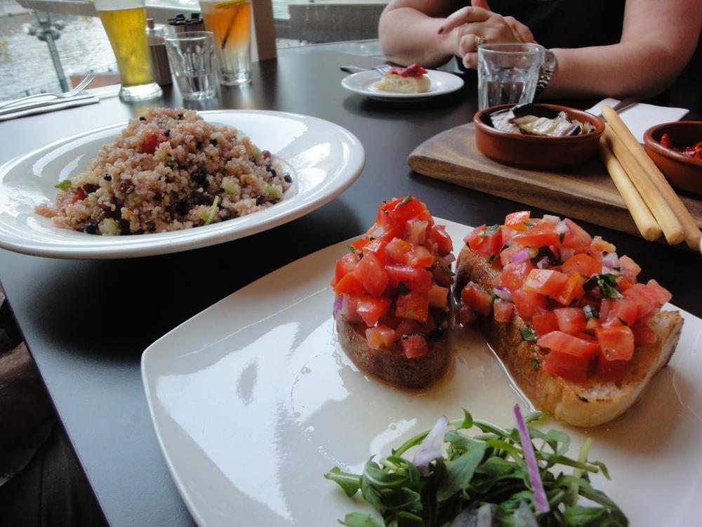 Simple Italian Cuisine at La Camera antipasti.JPG
