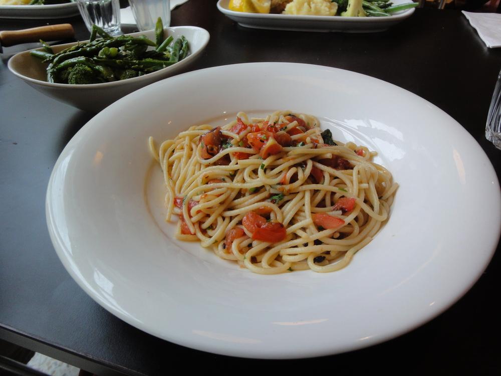 Simple Italian Cuisine at La Camera pasta.JPG