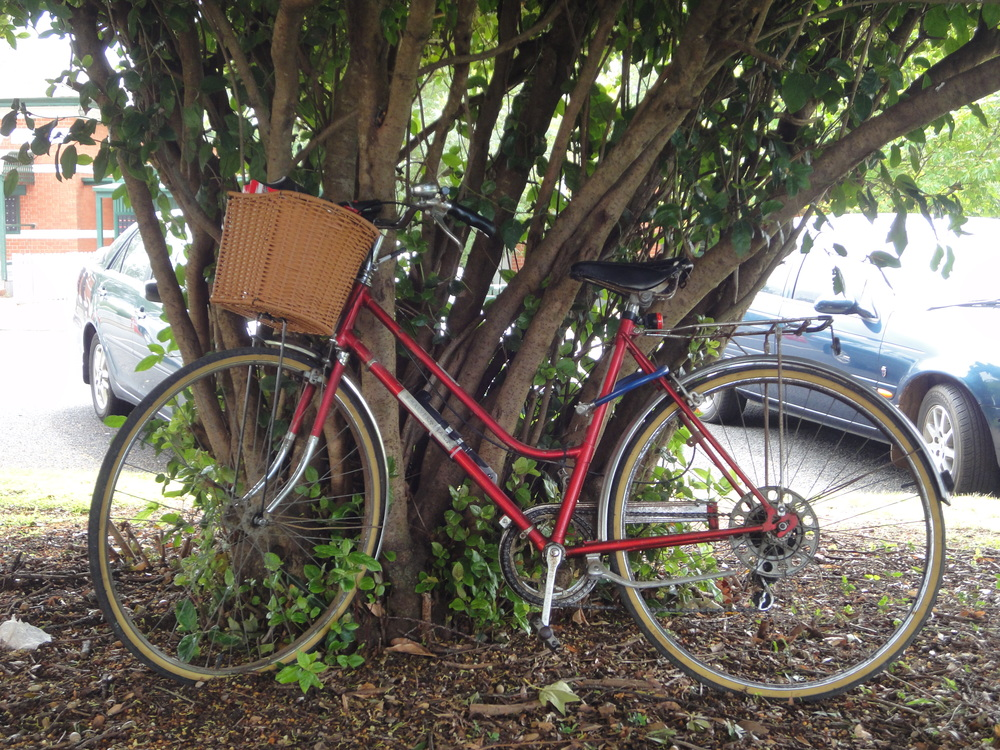 Lancefield Farmers Market bicycle