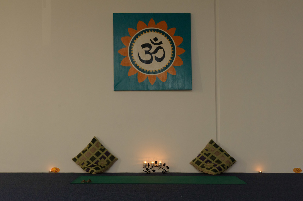 Embracing 'om', the sound of the universe. Photo credit: Erlinda Yoga Centre
