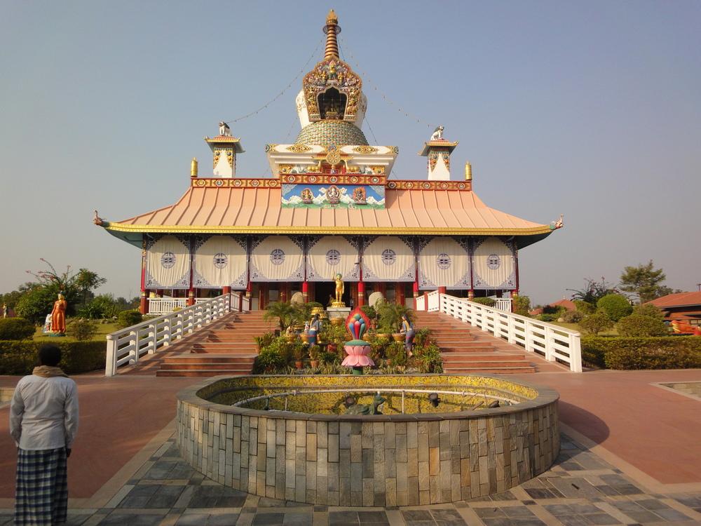 Tibetan temple Lumbini