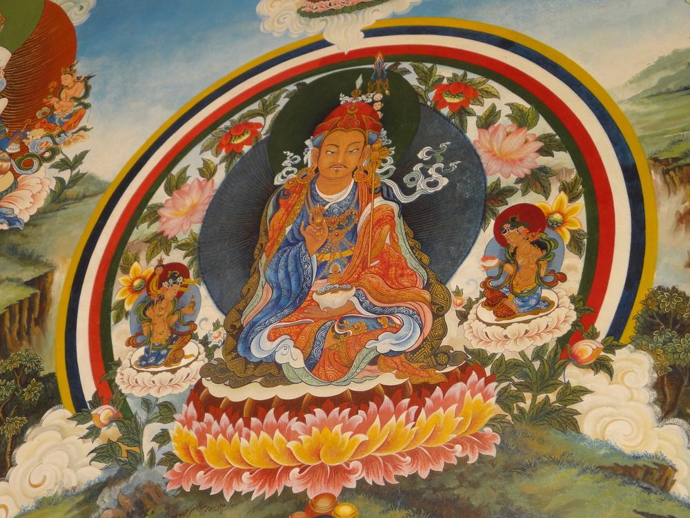 Tibertan temple Lumbini mandala