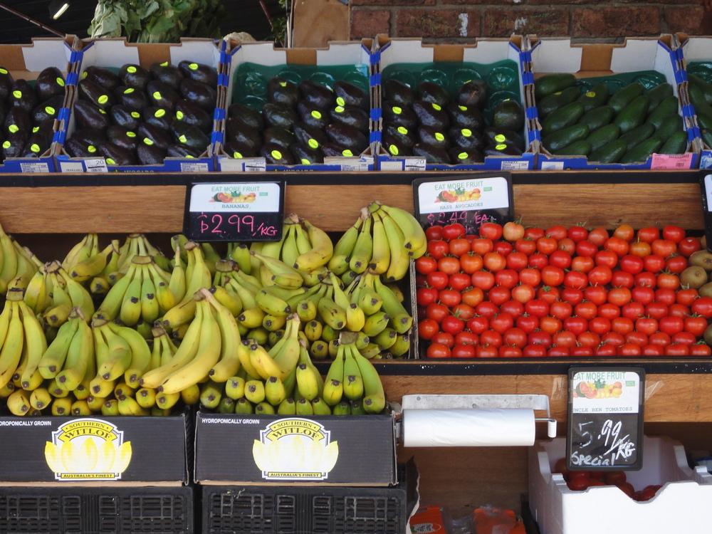 South melbourne Market fruit and vegetables