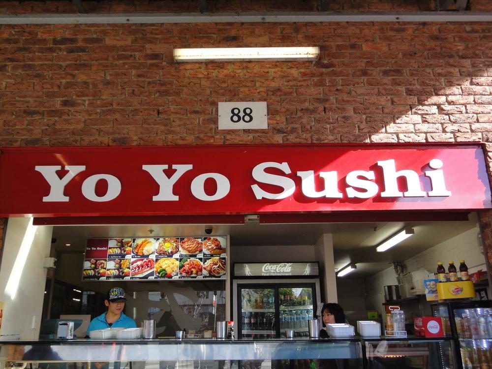 South Melbourne Market Yo Yo Sushi