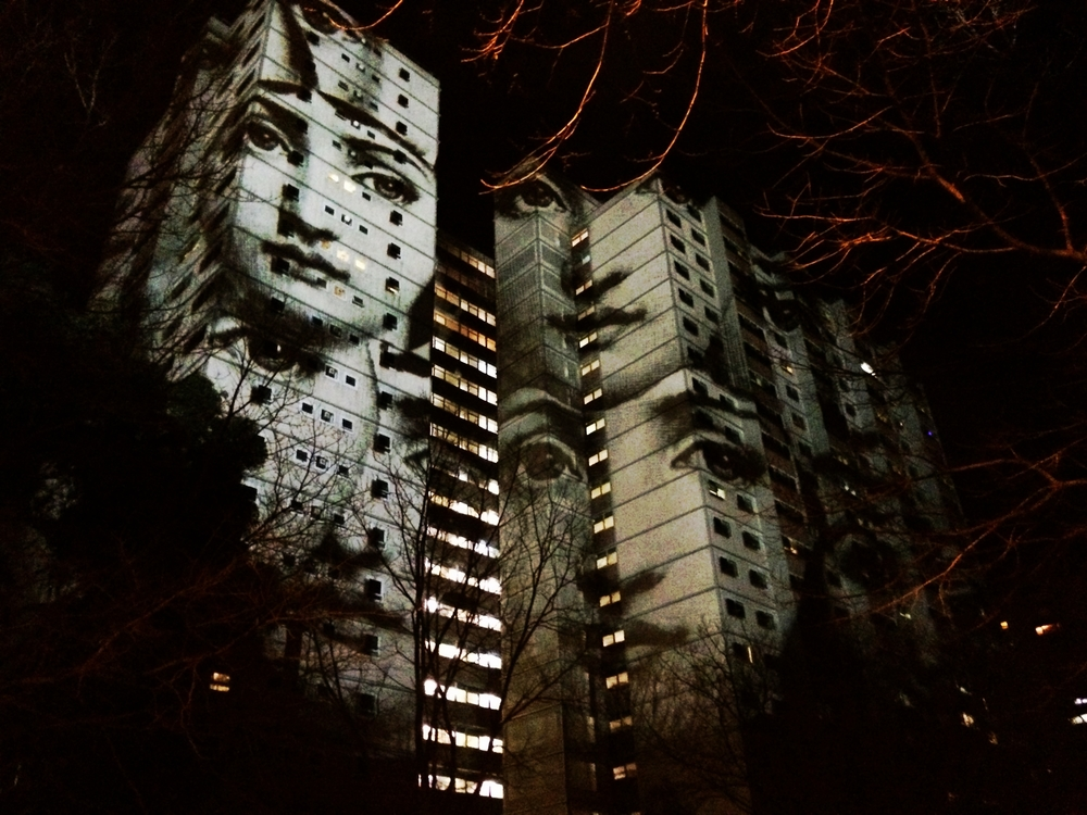 Featured work from Gertrude Street Projection Festival artist Nick Azidis.