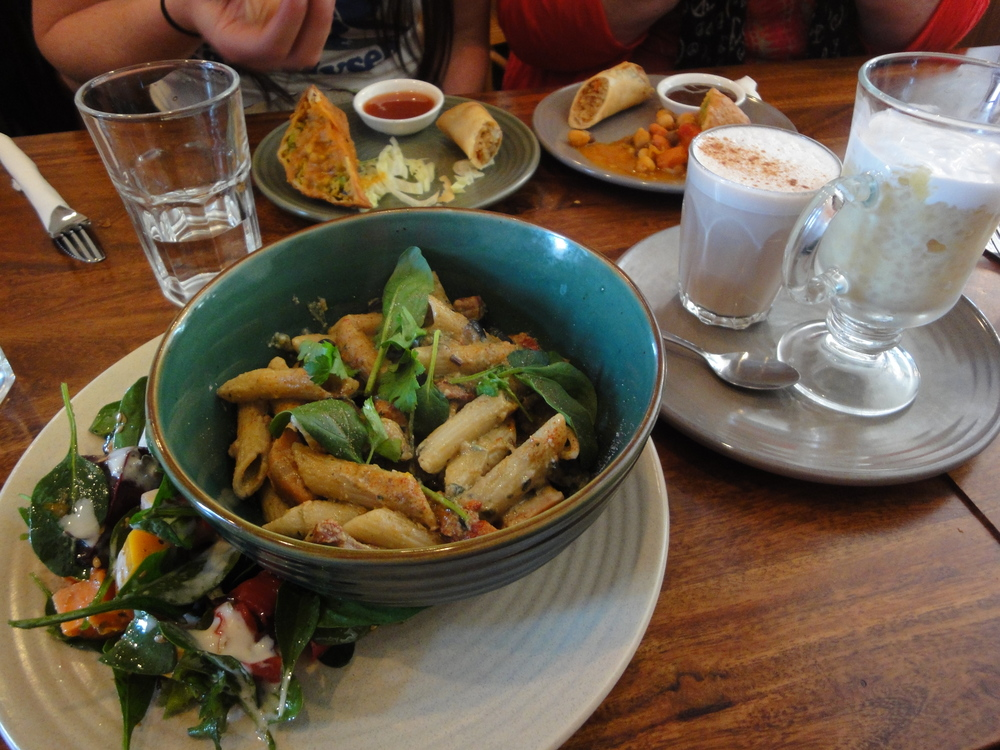 Vegan Day Out in Fitzroy Radhey