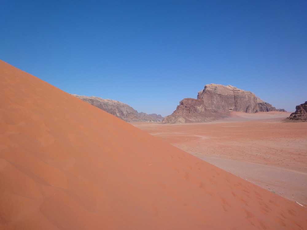 One big adventure to be had in Wadi Rum.