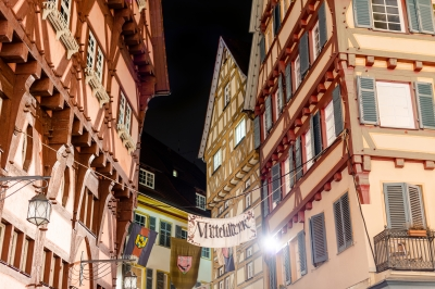 Wander the streets during Christmas in Germany. Image courtesy of franky242 at FreeDigitalPhotos.net