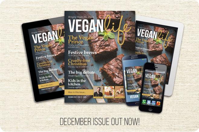 Vegan Life Magazine Christmas berries