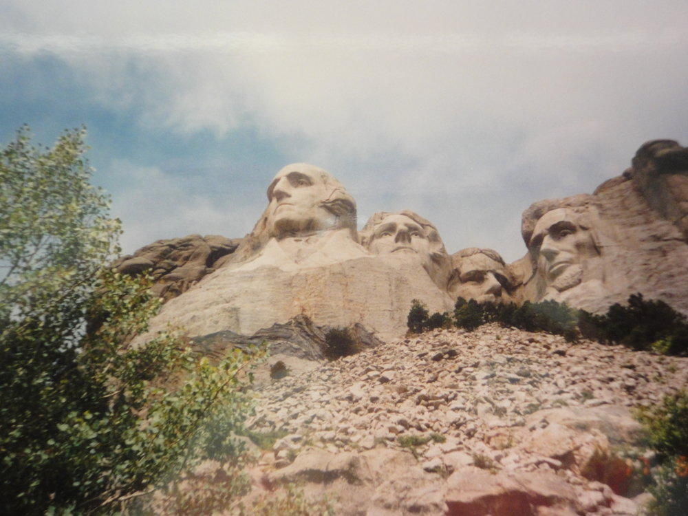 Reaching the Mount Rushmore National Memorial in South Dakota.
