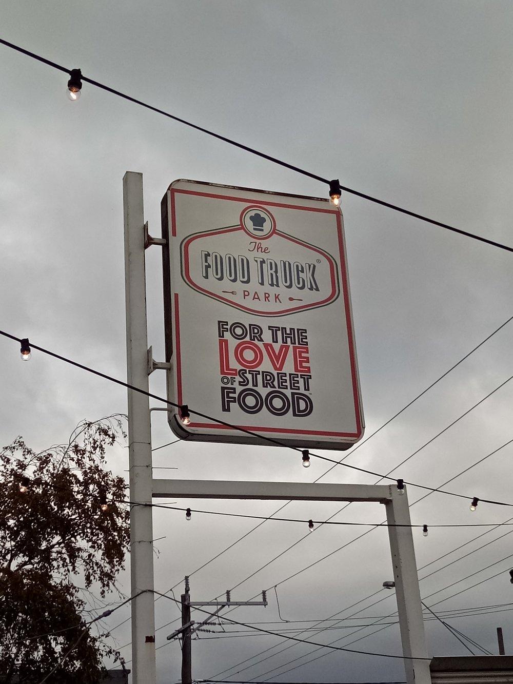 The Food Truck Park in Preston vegan gluten free food travel melbourne australia