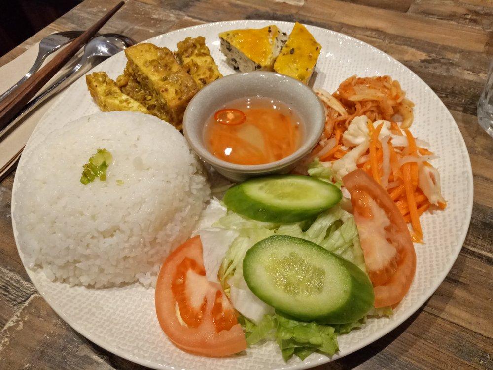 Melbourne Olivia Spring Cafe vegan food travel Vietnamese coffee