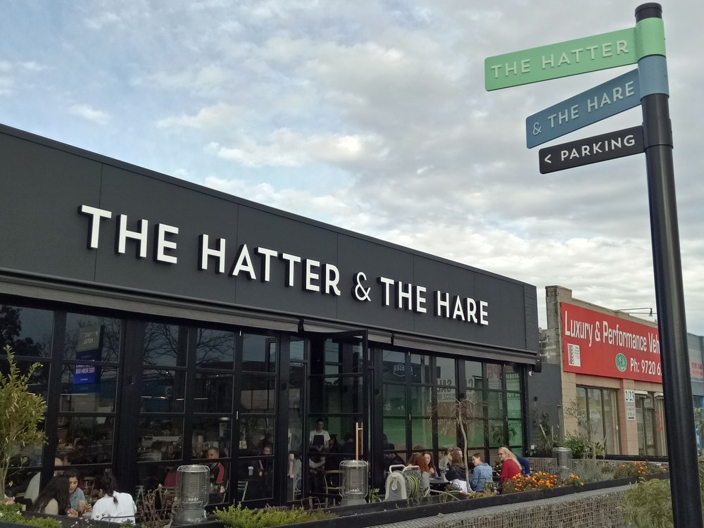 The Hatter & The Hare Bayswater Melbourne Victoria Australia vegan food travel gluten free