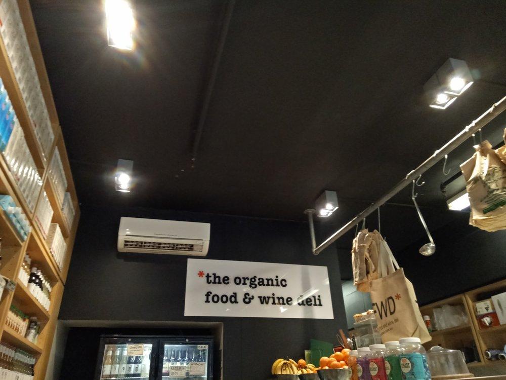 The Organic Food and Wine Deli Melbourne laneways Degraves Street Australia vegan