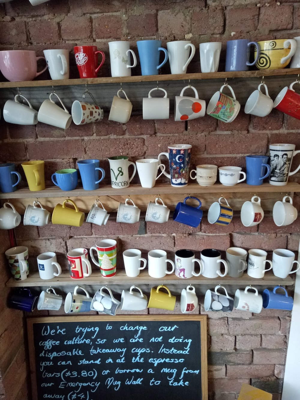 Nup to the Cup cup Handsome Her Melbourne Australia cafe coffee