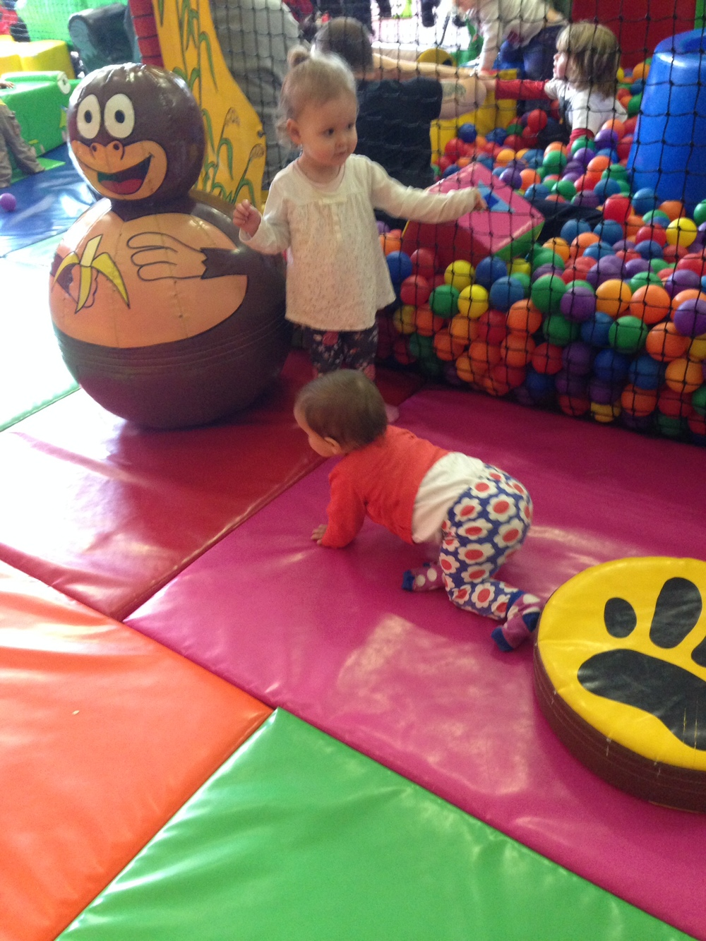 Exploring the soft play