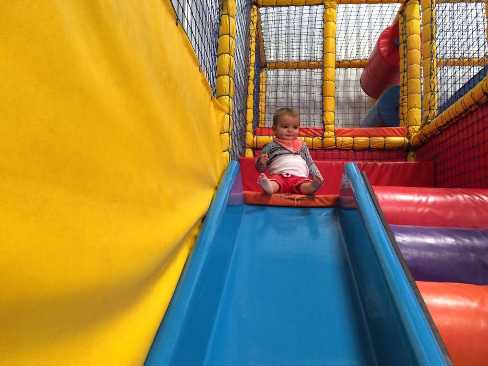 Braving the slide