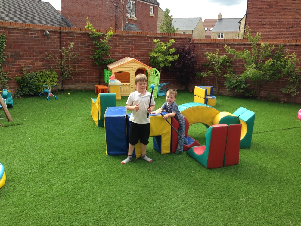 Soft play castle