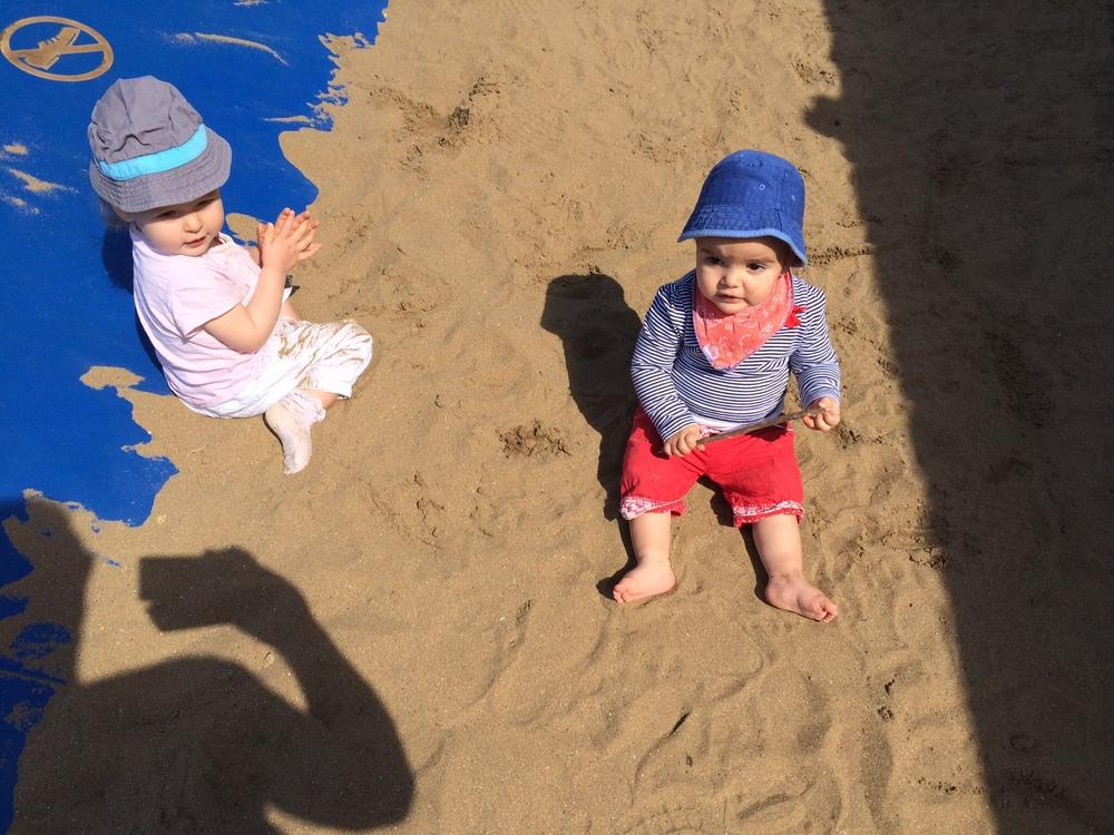Sunshine and sand