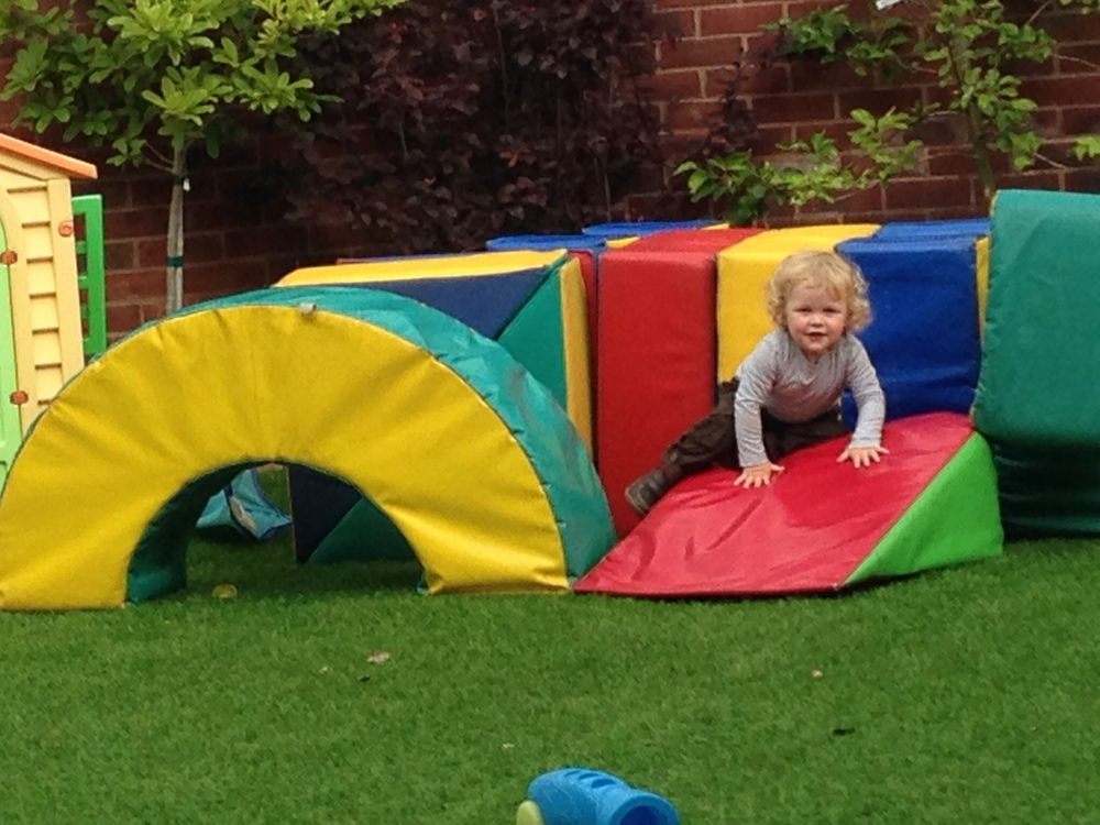 Soft play in the garden