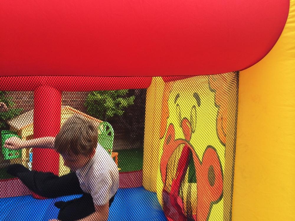 Bouncy castle bail