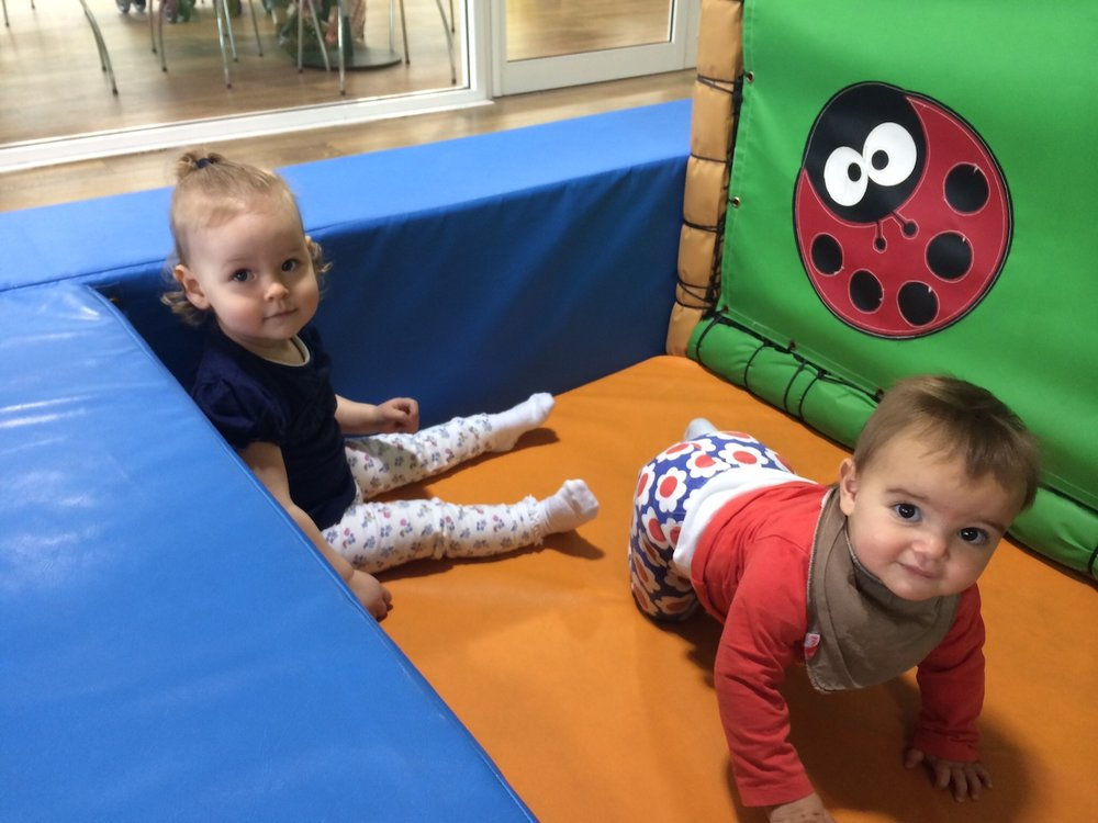 Soft play at Blooms outing