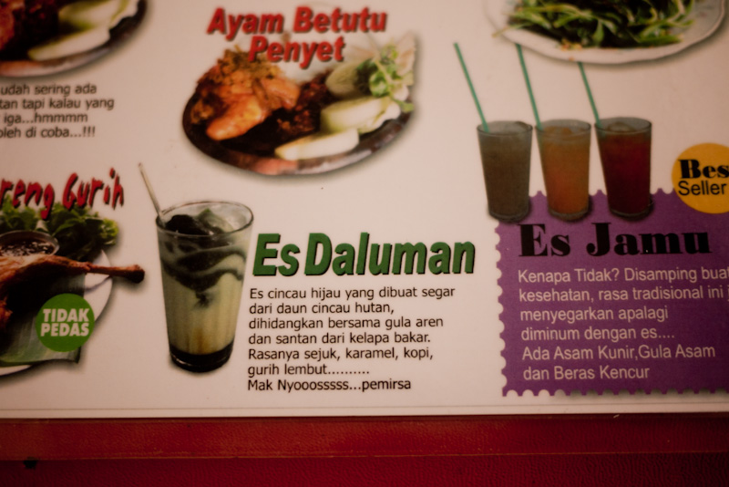 My Gigantic List of What to Eat in Jogjakarta — UMI SYAM