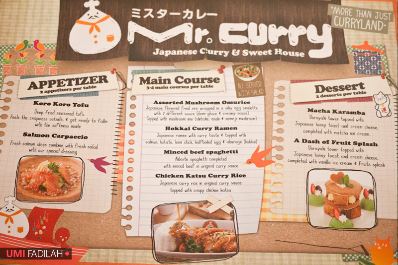 New Outlet Foodtasting: Mr. Curry @ Pondok Indah Mall 2