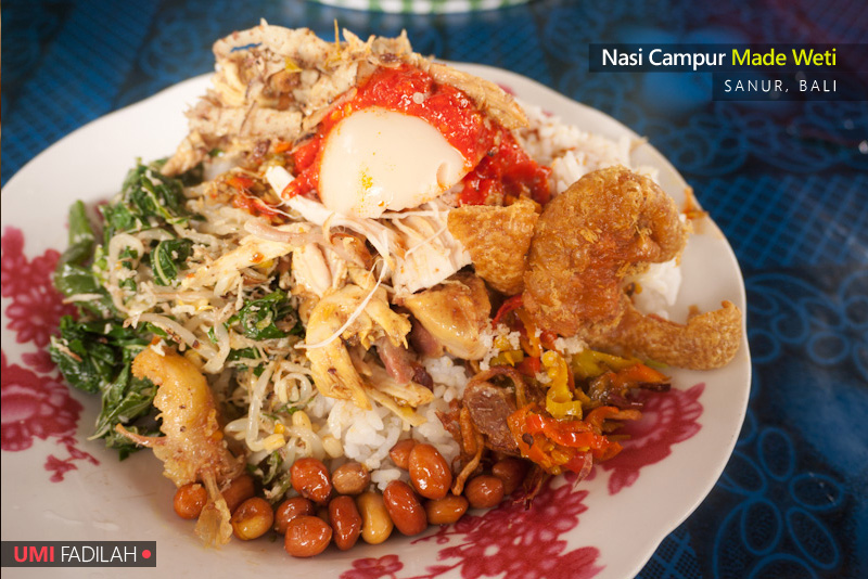 Bali (Short) Culinary Trip: Nasi Campur Made Weti & Pie Susu