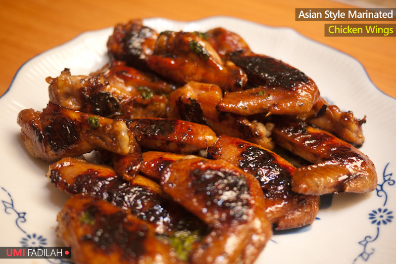 COOK: Asian-style Marinated Chicken Wings — UMI SYAM