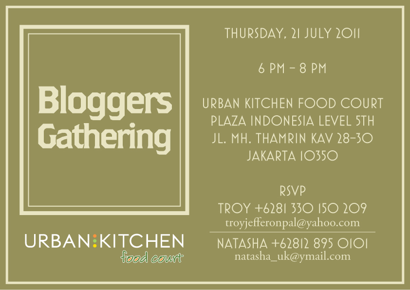 Foodtasting: Urban Kitchen PI - New Concept