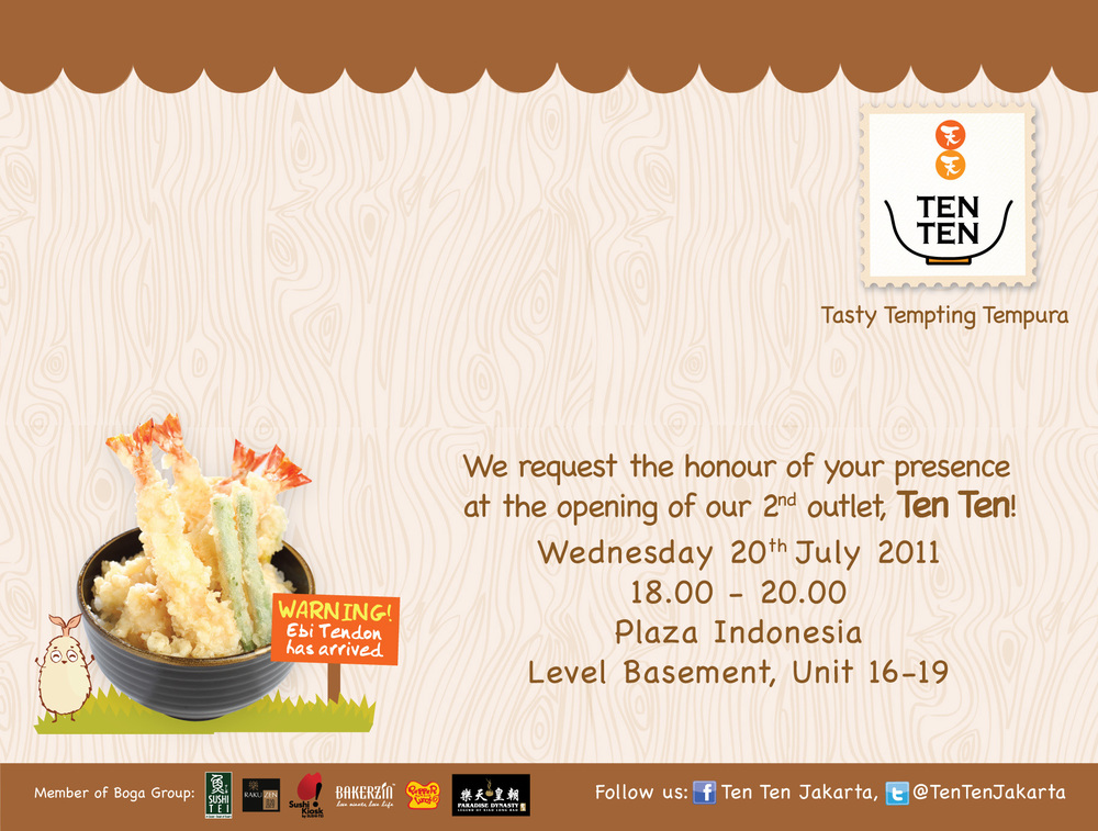 Foodtasting: TenTen Plaza Indonesia