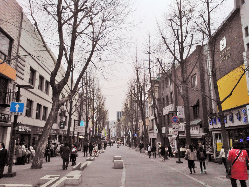 Insadong, the focal point of Korean cultural & arts