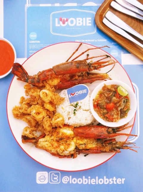 Whole Big Shrimp Platter (IDR 85,000)