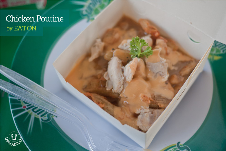 Chicken Poutine (IDR 18k)