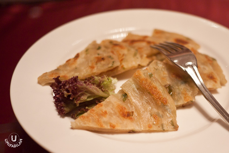 Pan Fried Leek Pancake (IDR 38k)