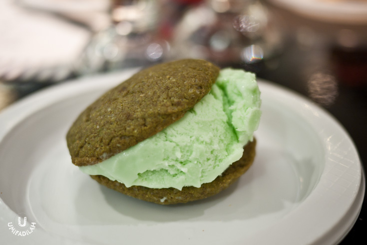 The Green Experiment  (Matcha Cookies with Banana Scoop)