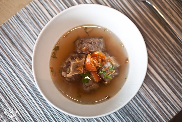 Bengawan's infamous Oxtail Soup.