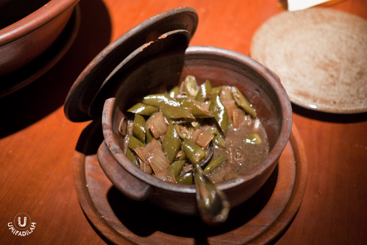 Mexican condiment made of green chili and sweet caramelized onion.