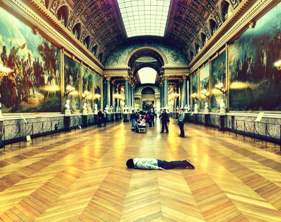 At  Versailles Grand Gallery , France.