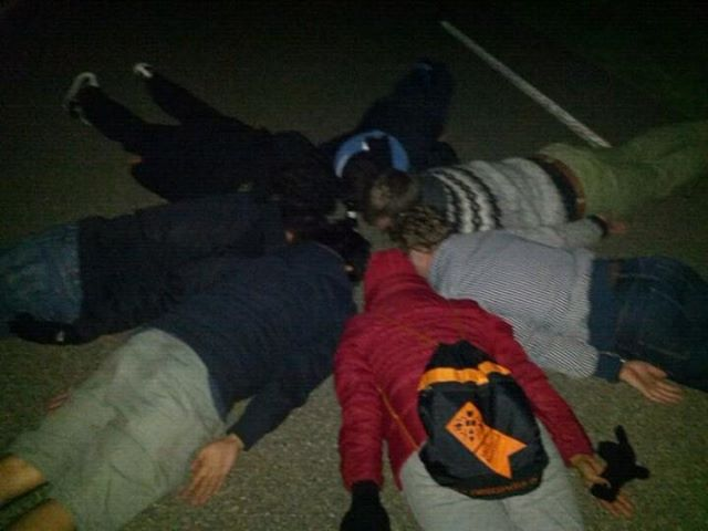A must do GROUP PLANKING.