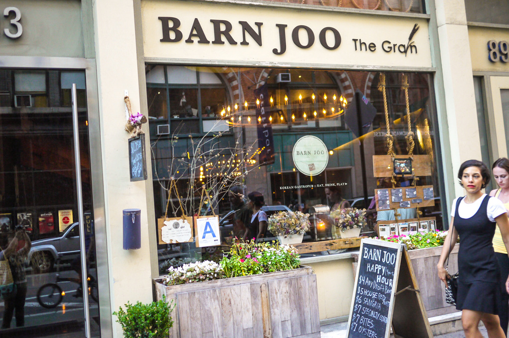 BARN JOO :: 893 BROADWAY, FLATIRON DISTRICT, NEW YORK, NY 10003 T. 646-398-9663
