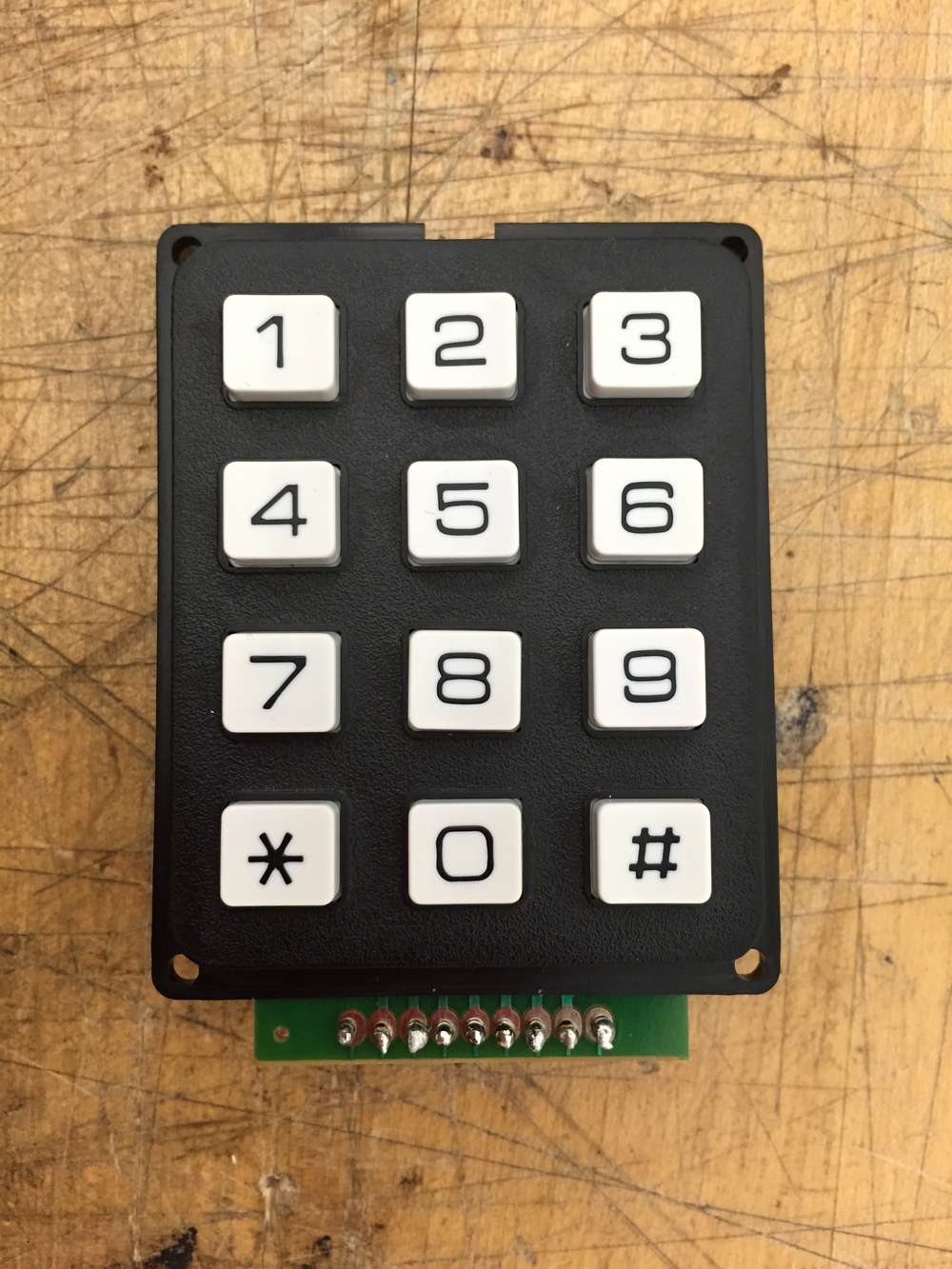 Sparkfun Keypad - 12 Button.   COM-08653