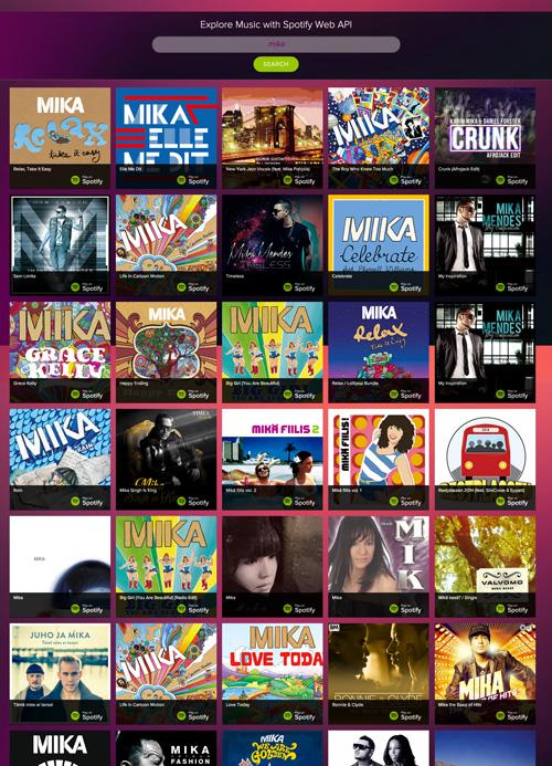 Explore Music using Spotify Web API — UMI SYAM