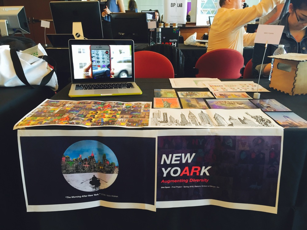 NEW YOARK showcased at NYC Media Lab 2015.