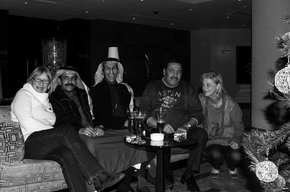 Pre Christmas in Aqaba Jordan. December 2011